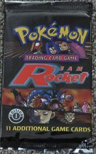 Pokemon 1st Edition First Ed Team Rocket Booster Pack From Box! Charizard?