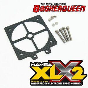 Basherqueen Carbon Fiber Switch Mount Castle Mamba XLX / XLX2