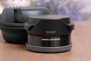 Sony VCL-ECF2 Fisheye Converter for Sony E-Mount for 16mm f/2.8, 20mm f/2.8