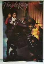 Prince Purple Rain Vintage Poster Promo Pin Up 1984 Movie Memorabilia Warner Bro