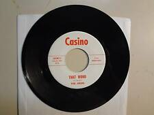 "JERMS: That Word 2:15- Love Light 2:30-U.S. 7"" 1966 Casino 2AFM211,Kansas Garage"