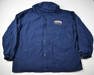 Virginia Cavaliers Nike Jacket Men's Navy Poly Used 3XL