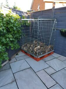 stackable pallet cage
