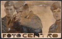 YZ3291 Militari sparano ad un tiro al bersaglio - 1930 Fotografia epoca - Photo