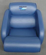 Bootssitz Steuerstuhl Flip Up Steuersitz Noble Boats Standard Blue Seat