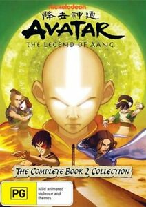 Avatar - The Last Airbender - Earth - Book 2 - Vol 1-4 Collection DVD