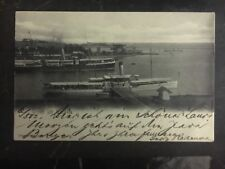 1902 Weltevreden Netherlands Indies Real Picture Postcard Cover RPPC Port