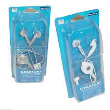 Grundig GHI1525S Silver In Ear Earphones Headphones CD Ipod MP3