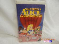 ALICE IN WONDERLAND-WALT DISNEY-VHS-BLACK DIAMOND-#036-VIEWED-ENJOYED-AS IS!