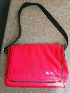 Silver Cross Red pram Bag And Changing Mat