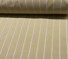 "Romo Stratton ""Gilby Postbox""-Cotton Ticking Stripe Upholstery Fabric -Per Meter"