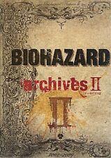 JAPAN Book: Resident Evil Biohazard archives II