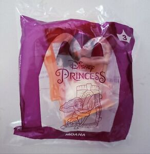 McDonalds 2021 Disney Princess #3 MOANA new in package Happy Meal Toy NIP