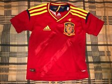 KIDS 2-3 YEARS ADIDAS SPAIN SOCCER JERSEY RARE 2011 España CAMISA MEXICO USA FEF