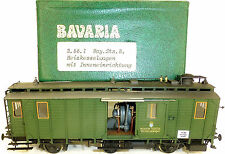Boiler Car K.bay.sts.b. Handycraft Model Bavaria 2.55.1 H0 1:87
