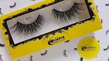 Eldora False Eyelashes M111 Multi-layered Human Hair Strip Lashes