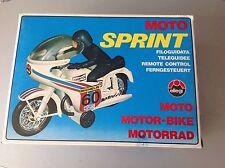 Vintage 70'S Ellegi Moto Sprint Friction Powered Moto Guzzi Mv Agusta  Nib