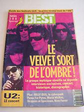 MAGAZINE BEST N° 300 SPECIAL VELVET UNDERGROUND  . 1993 . BON ETAT .