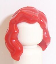 Lego Over Shoulder Hair x 1 Red for Minifigure