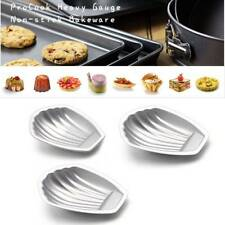 Shell Egg Tart Aluminum Cupcake Cake Cookie Flower Mold Mould Baking Pan Tool