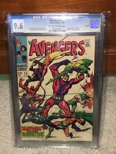Avengers #55 CGC 9.6 1968 1st Ultron! Circle 8 Pedigree! Thor! F8 911 cm clean