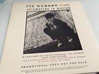 "Ric Ocasek Promo 12"" Vinyl Single Emotion in Motion, Geffen 1986"