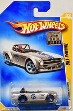 HOT WHEELS 2009 NEW MODELS TRIUMPH TR6 #33/42 SILVER FACTORY SEALED
