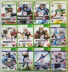 Madden games (Microsoft Xbox 360) Tested