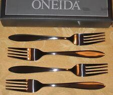 ONEIDA Set of 4 DINNER FORKS 8 12 16 Mooncrest STAINLESS FLATWARE Silverware NEW