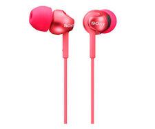 Auriculares boton Sony Mdrex110lpw rojo