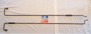 1971 72 1973 74 Road Runner Satellite Charger trunk deck lid torsion spring rods