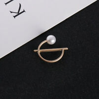 Charm Pearl Brooch Suit Lapel Pin Fashion Gold Women Accessories Jewelry Gifts