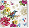 20 Paper Lunch Napkins Color BIRD OF PARADISE Decoration DECOUPAGE SHABBY CHIC