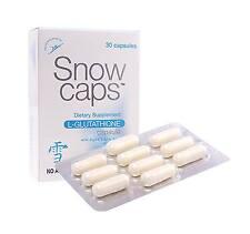 SNOW CAPS L-Glutathione Capsule with ALA and Vitamin C (30 capsules) USA SELLER!