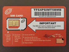 NET10 DUAL SIM CARD FOR THE IPHONE 3GS UNLIMITED T-MOBILE NETWORK TOWERS