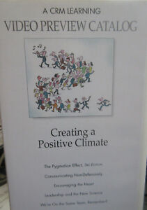 CRM Learning Video Preview Catalog Creating a Positive Climate   VHS