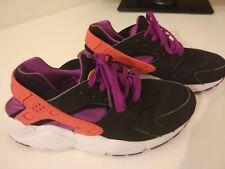 *RARE* Nike Air Huarache Hyper Black Purple Orange UK 5.5