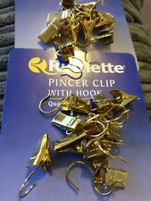 Rufflette Pincer Clip With Hook (20)