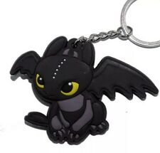 How To Train Your Dragon Toothless Rubber Keychain 2 Inches US Seller