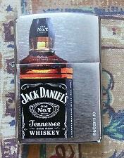 DISCONTINUED ALCOHOL JACK DANIELS BOTTLE ZIPPO LIGHTER FREE P&P FREE FLINTS