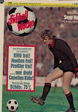 Fußball Woche 19/1972,Bundesliga,Sepp Maier, 1. FC Saarbrücken, Uwe Seeler