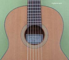 1/2 Konzert-Gitarre H.V. Diethard DZ53 Zeder massiv hochwertig Kindergitarre Top