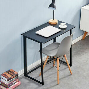 Foldable Computer Desk Small Laptop PC Writing Gaming Table Wood Desk Folding