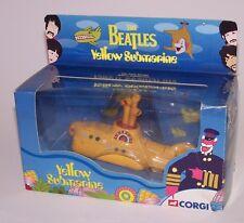 The Beatles Music Band Yellow Submarine Die Cast Model NIB Corgi 2002
