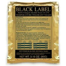 1 Prestige Black Label 14-17% Turbohefe, Gärhefe Brennhefe Trockenhefe Alkohol