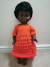 Large Vintage  Black Doll