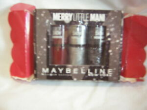 MERRY LITTLE MAN MAYBELLINE NAIL POLISH SET BRAND NEW FACTORY SEALED