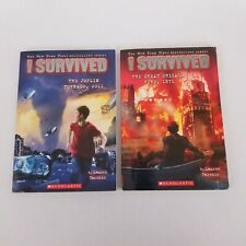 I Survuved Book Series Set of Early Chapter Ages 7-10 - Lot of 2 Books