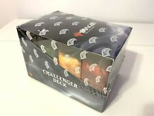 MTG Magic The Gathering Factory Sealed Display Box of 8 Challenger Decks