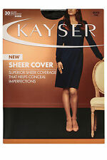 WOMENS 5 PACK KAYSER SHEER COVER Sheers Stockings Pantyhose Hosiery Work Office